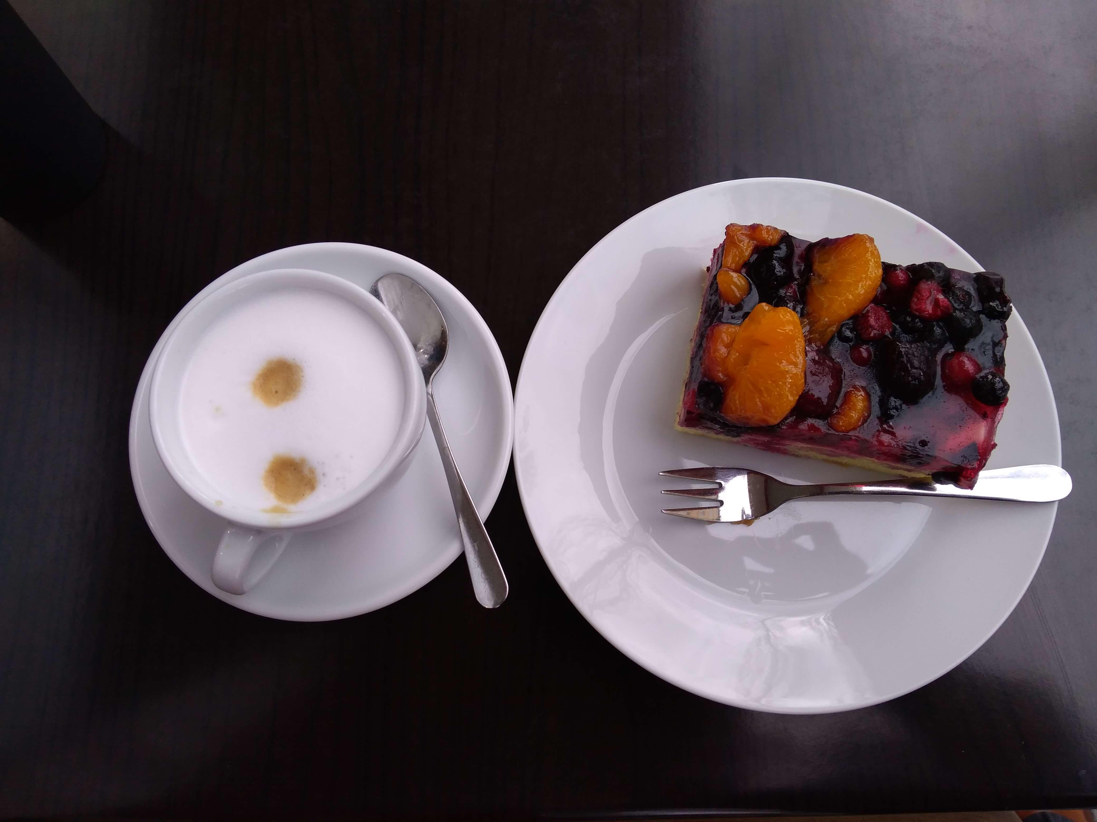 ドイツで食べたケーキ