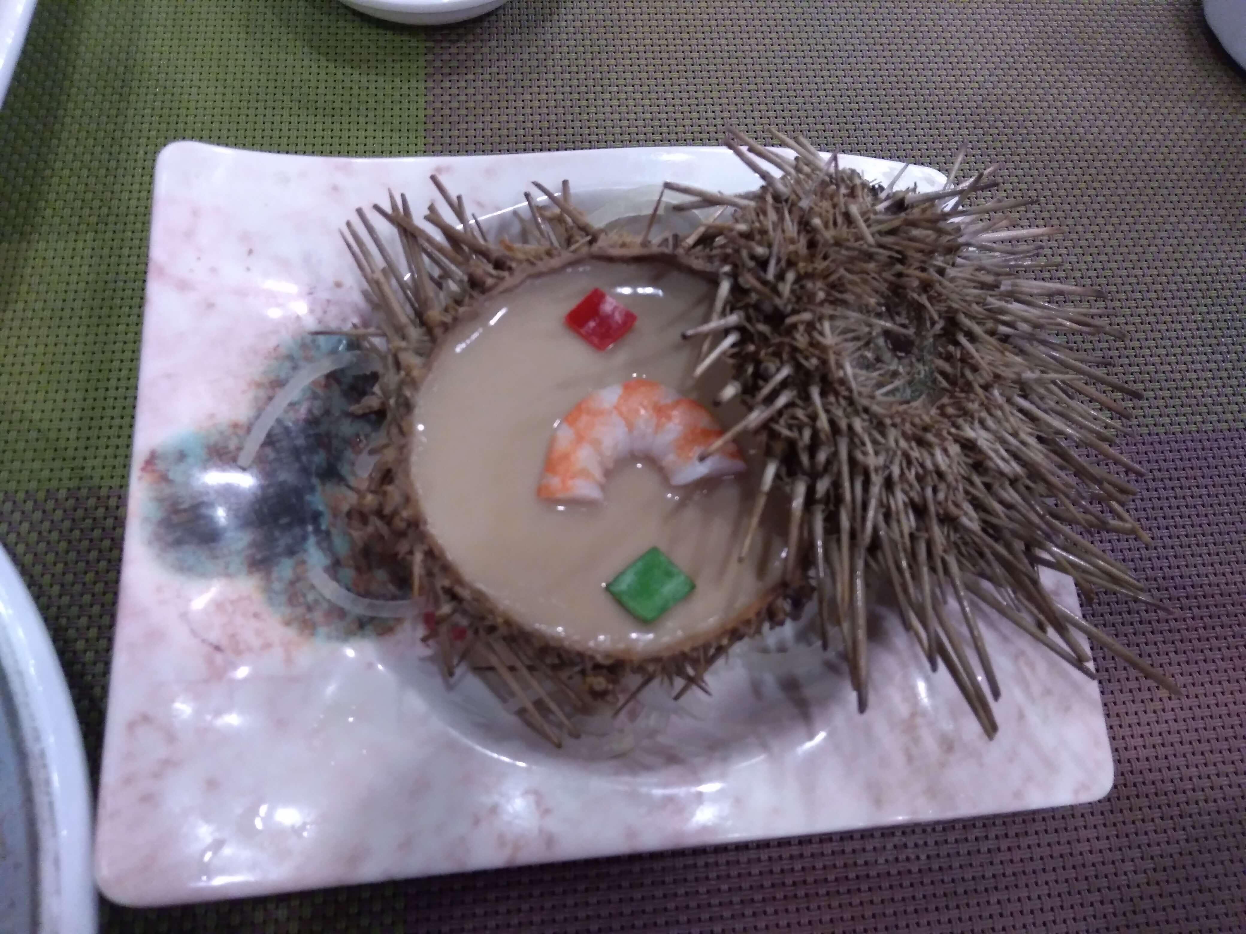 海鮮風味の茶碗蒸し