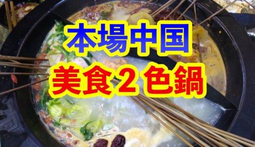 本場中国の2色鍋は美味しかった!