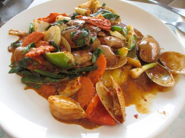 チャン島で食べた料理①