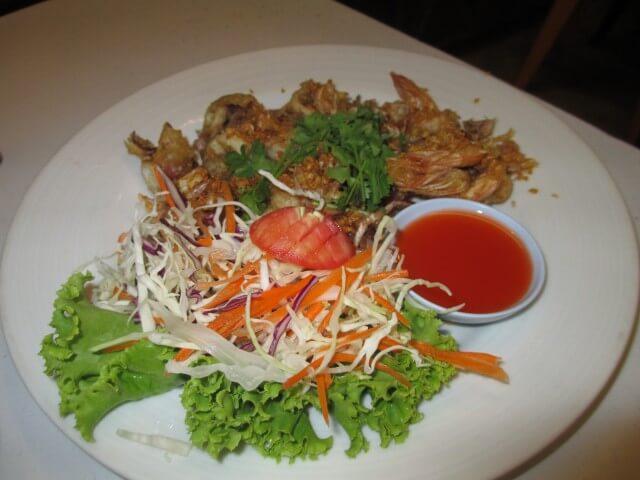 チャン島の夕食④